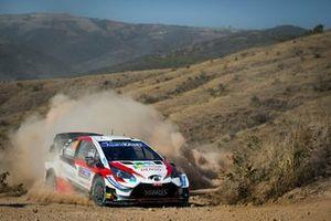 Калле Рованпера и Йонне Халттунен, Toyota Yaris WRC