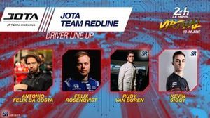 Line-up #38 Jota Team Redline