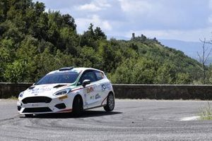 Riccardo Pederzani, Edoardo Brovelli, ACI Team Italia, Ford Fiesta Rally4