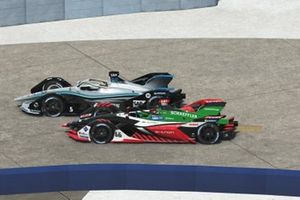 Daniel Abt, Team Abt and Stoffel Vandoorne, Mercedes Benz EQ