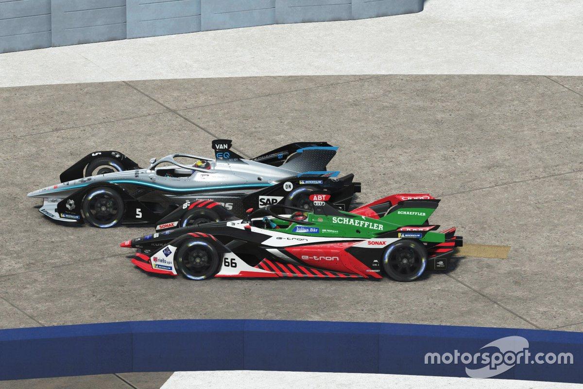 Formule E : Race at Home Challenge - Manche 5