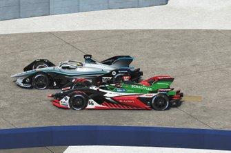 Daniel Abt, Team Abt en Stoffel Vandoorne, Mercedes Benz EQ