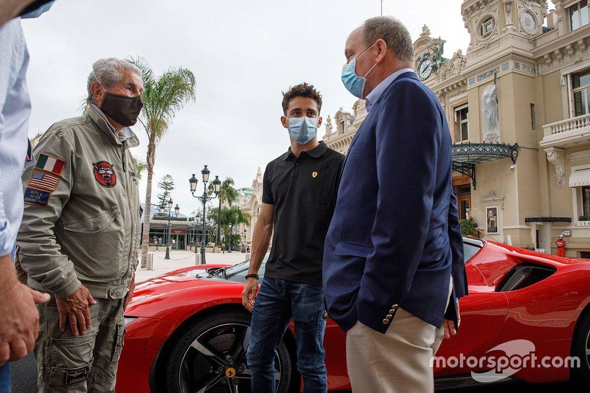 Claude Lelouch, Charles Leclerc, Ferrari, Albert II, Prince of Monaco