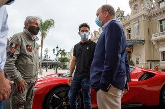 Claude Lelouch, Charles Leclerc, Ferrari, Albert II, Prince de Monaco
