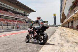 Xavi Vierge entrenamiento Circuit de Barcelona