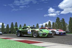 Cairoli, Caglioni, Porsche Esports Carrera Cup Italia Prologo 2020