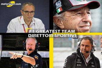 Cover F1 Greatest Team Direttori Sportivi