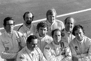Andrea de Adamich, Henri Pescarolo, Jack Brabham, Rolf Stommelen, Ronnie Peterson, Peter Gethin, Denny Hulme, Jean Pierre Beltoise
