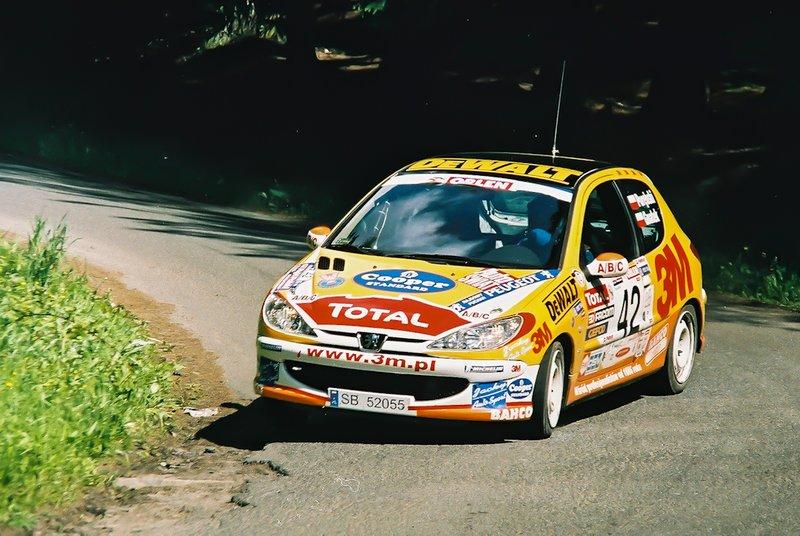 Tomasz Porębski, Rafał Gnatek, Peugeot 206 XS