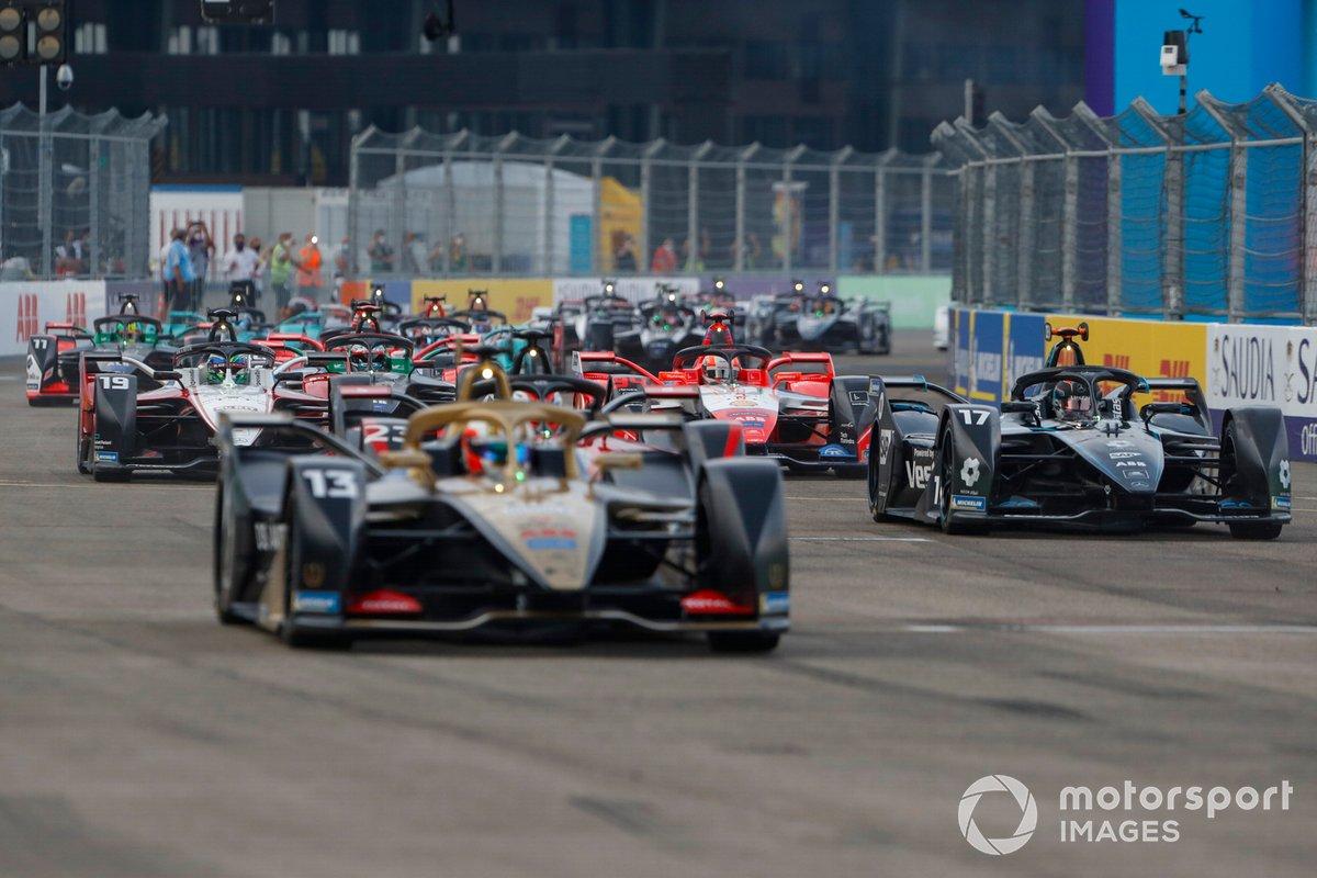 Antonio Felix da Costa, DS Techeetah, DS E-Tense FE20, Nyck de Vries, Mercedes Benz EQ, EQ Silver Arrow 01