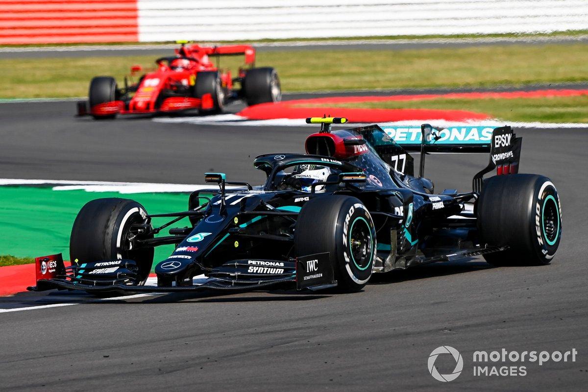 Valtteri Bottas, Mercedes F1 W11, Charles Leclerc, Ferrari SF1000