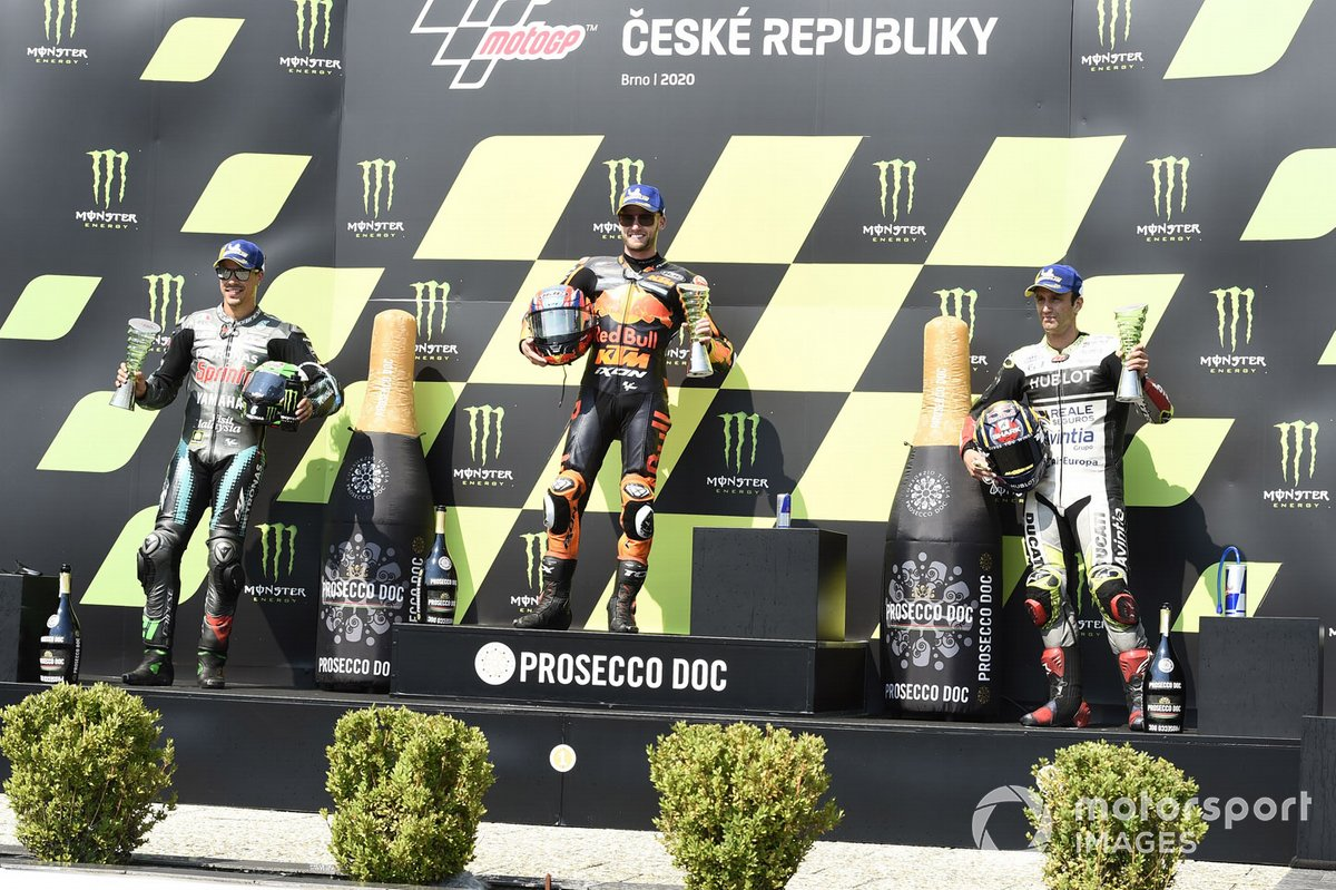 Franco Morbidelli, Petronas Yamaha SRT, Brad Binder, Red Bull KTM Factory Racing, Johann Zarco, Avintia Racing