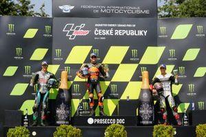 Franco Morbidelli, Petronas Yamaha SRT, Brad Binder, Red Bull KTM Factory Racing, Johann Zarco, Avintia Racing