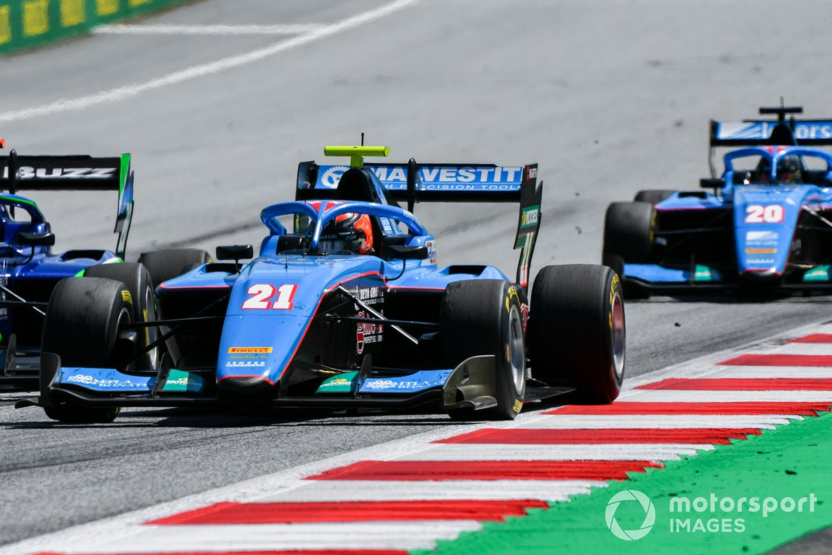 Federico Malvestiti, Jenzer Motorsport y Calan Williams, Jenzer Motorsport