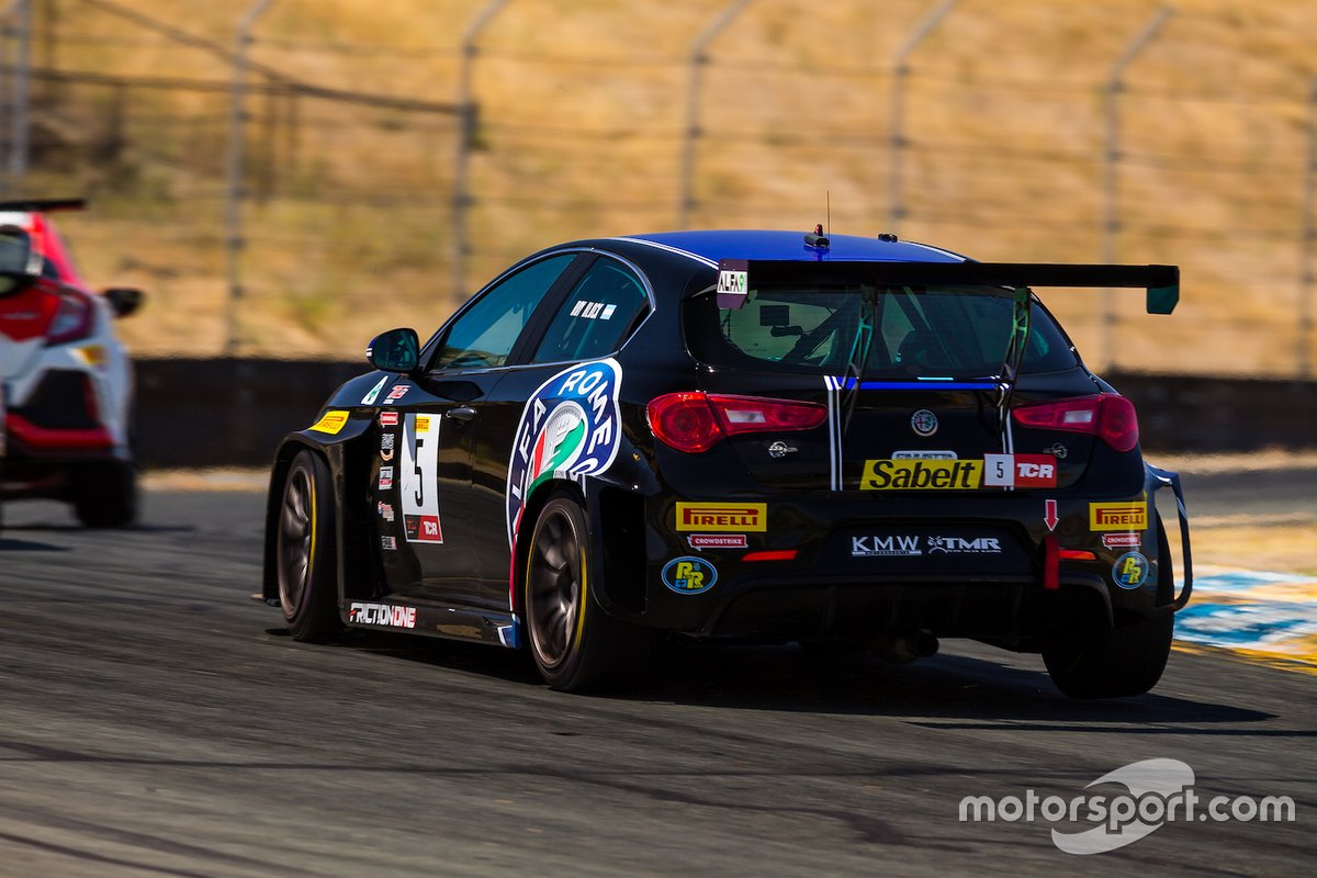 Roy Block, KMW Motorsports with TMR Engineering, Alfa Romeo Giulietta TCR