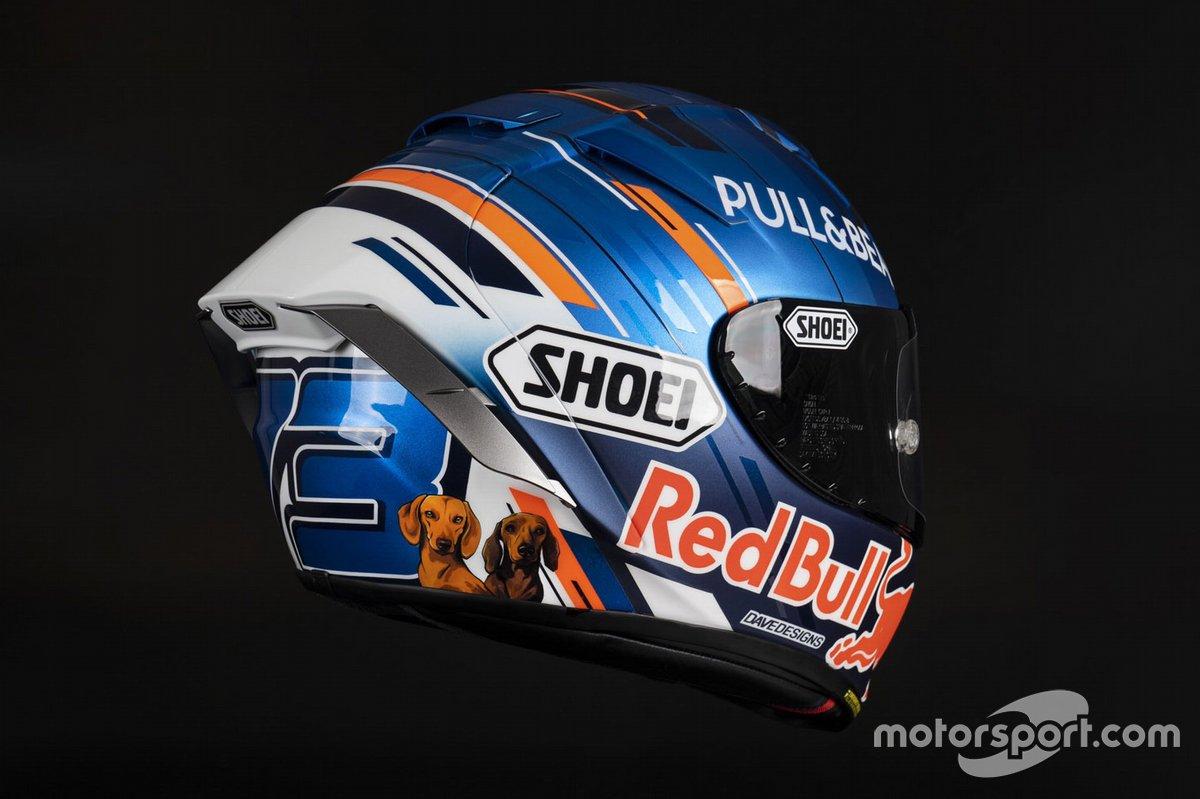 Casco de Alex Marquez, Repsol Honda Team