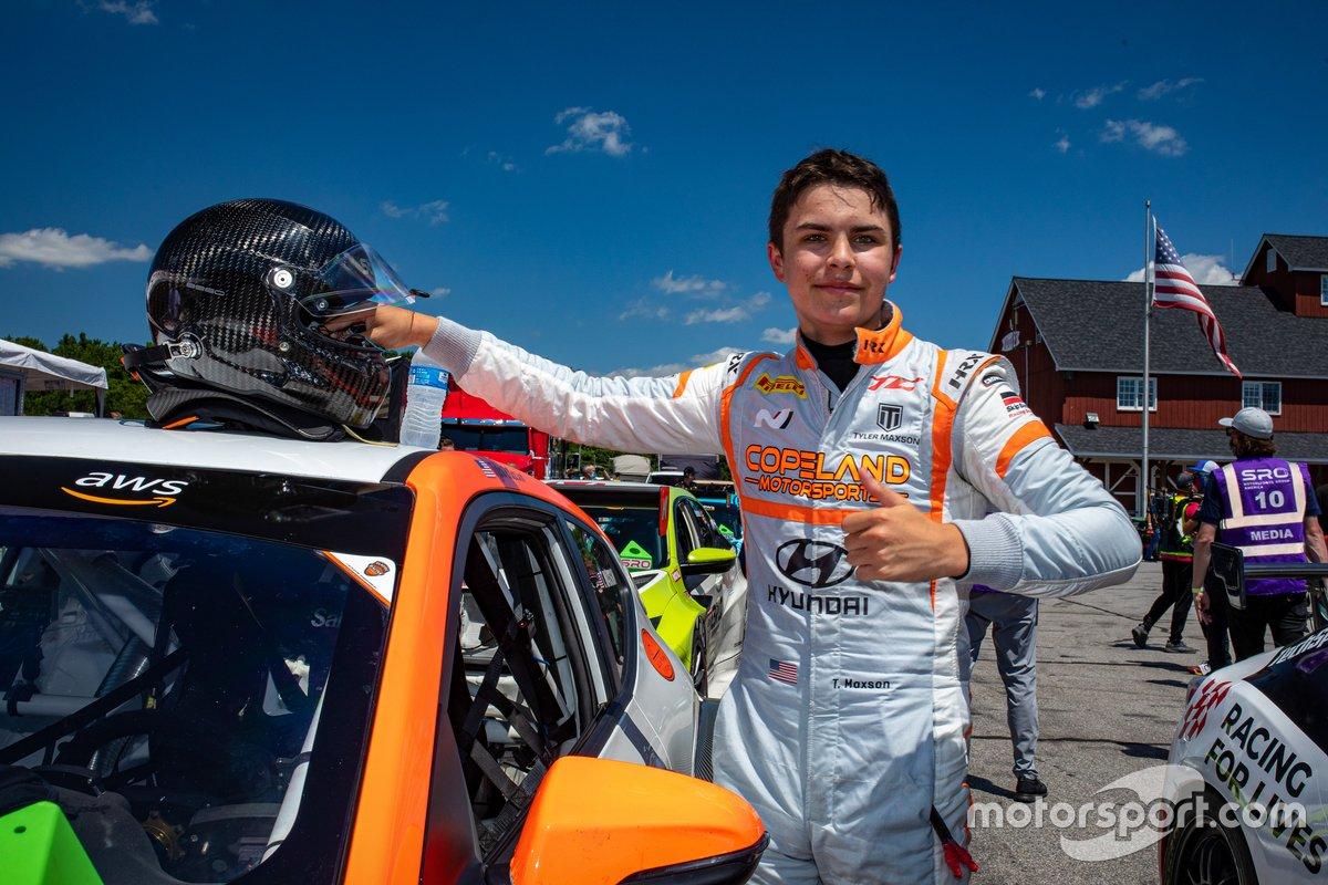 Tyler Maxson, Copeland Motorsports, Hyundai Veloster N TCR