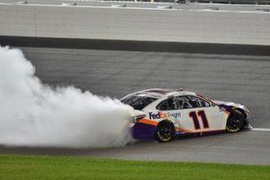 1. Denny Hamlin, Joe Gibbs Racing, FedEx Office Toyota Camry