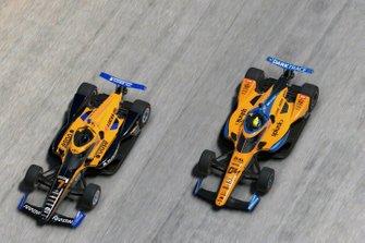 Lando Norris, Arrow McLaren SP, Oliver Askew, Arrow McLaren SP