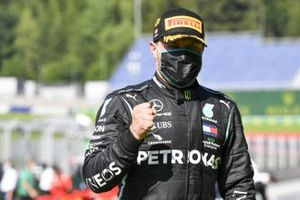 Победитель гонки Валттери Боттас, Mercedes-AMG