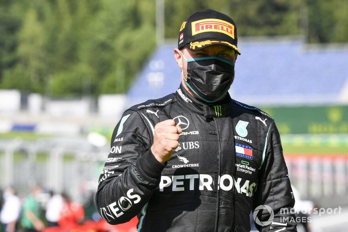 Ganador de la carrera Valtteri Bottas, Mercedes-AMG Petronas F1