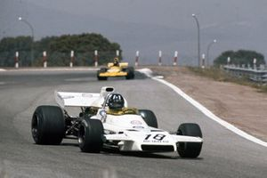 Graham Hill, Brabham BT37 Ford devant Mike Beuttler, March 721G Ford