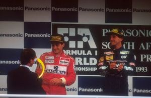 Ayrton Senna, McLaren, Alain Prost, Williams