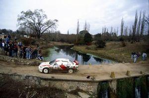 Tommi Makinen, Seppo Harjanne, Mitsubishi Lancer Evo3