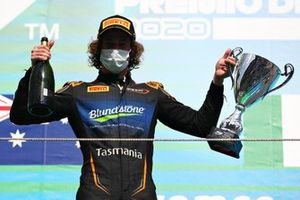 Second place Alex Peroni, Campos Racing