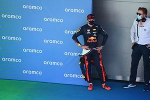 Max Verstappen, Red Bull Racing, after Qualifying third on the grid