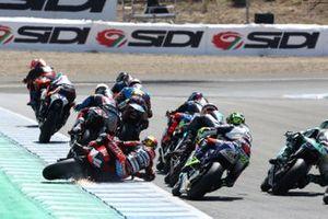 Sturz: Jorge Navarro, Speed Up Racing