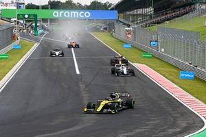 Daniel Ricciardo, Renault F1 Team R.S.20, Nicholas Latifi, Williams FW43, Alex Albon, Red Bull Racing RB16, Pierre Gasly, AlphaTauri AT01, Lando Norris, McLaren MCL35