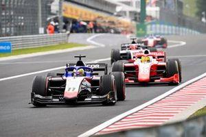 Louis Deletraz, Charouz Racing System and Mick Schumacher, Prema Racing