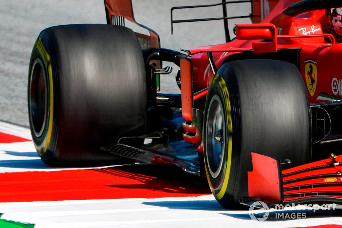 Fondo plano de Charles Leclerc, Ferrari SF1000