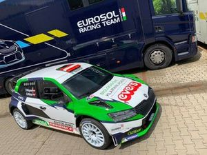 Simon Wagner, Gerald Winter, Skoda Fabia Rally2 evo