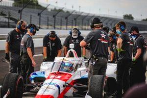 Ben Hanley, DragonSpeed USA Chevrolet, crew members