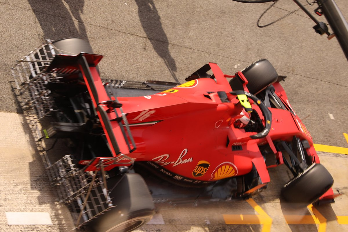 Dettagli del posteriore della Ferrari SF1000