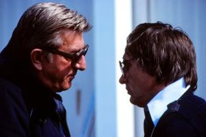 Jean-Marie Balestre, FISA President and Bernie Ecclestone, FOCA President / Brabham Manager