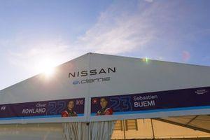 Le stand Nissan e.Dams