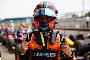 Pole sitter Felipe Drugovich, MP Motorsport