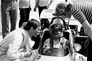 Robin Herd of March Engineering with Niki Lauda, March 721 Ford