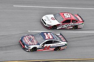 Clint Bowyer, Stewart-Haas Racing, Ford Mustang Barstool Sports America, Joey Gase, Petty Ware Racing, Ford Mustang