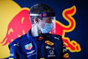 Red Bull Racing team member