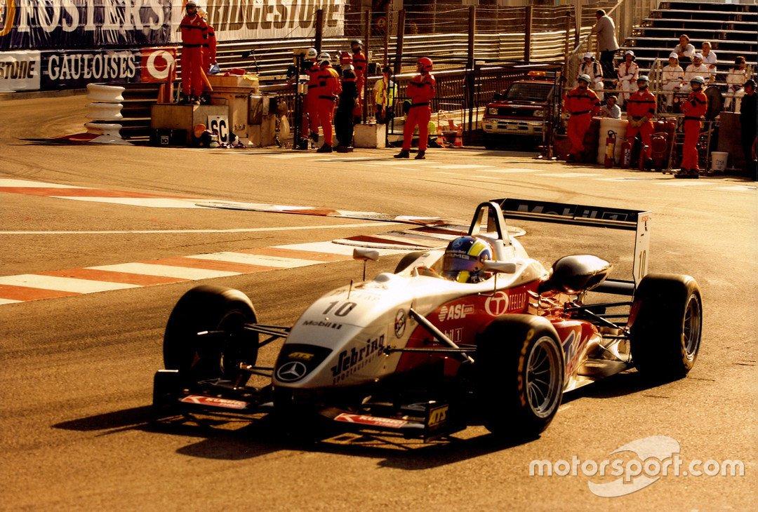 Átila Abreu na F3 Europeia em Mônaco, no ano de 2005