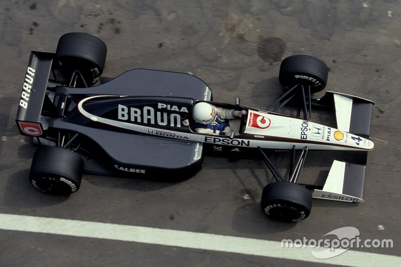 Stefano Modena, Tyrrell 020 Honda