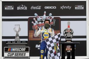 Ganador Chase Elliott, Hendrick Motorsports, Chevrolet Camaro