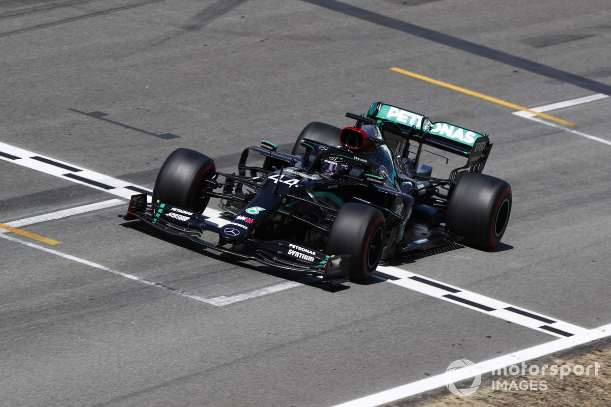 2020: Lewis Hamilton, Mercedes F1 W11 EQ Performance