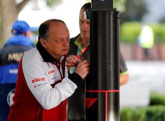 Frederic Vasseur, director del equipo, Alfa Romeo Racing