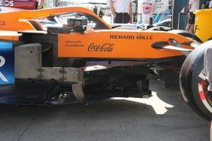 McLaren MCL35 sidepods detail