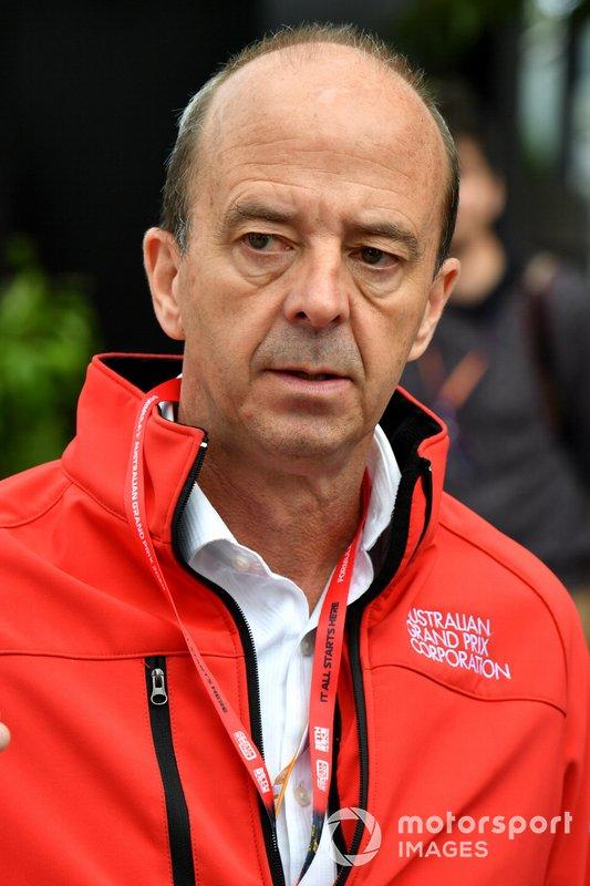 Andrew Westacott, Australian Grand Prix Corporation CEO
